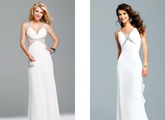 Короткі весільні сукні 2011